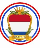 Hollands wapen print bierviltjes