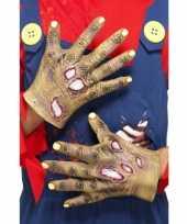 Horror zombie handen