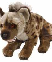 Hyena bruine knuffel 30 cm