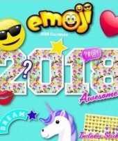 Kalender 2018 emoticons