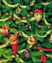 Kerstboom tafereel servetten 33 x 33 cm