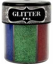 Knutsel glitters in felle kleuren