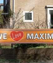 Koninginnendag banner maxima