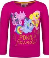 Lange mouwen shirt fuchsia my little pony