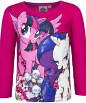 Lange mouwen shirt roze my little pony