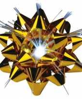 Lichtgevende kerst cadeaustrik 9 cm
