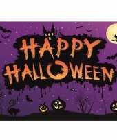 Liggende halloween horror versiering poster 59 cm