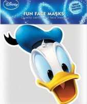 Maskertje met donald duck afbeelding