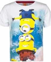 Minions kinder t-shirts wit