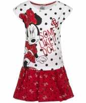 Minnie mouse kledingsetje rood wit