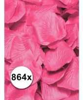 Mooie roze rozen blaadjes pakket