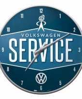 Muurklok service volkswagen 31 cm