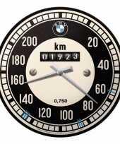 Muurklok tachymeter bmw 31 cm