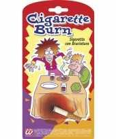 Nep sigaretten met brandplek