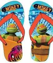 Ninja turtles kids slippers michaelangelo