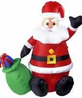 Opblaasbare kerstman 122 cm