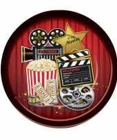 Oscar movie thema borden 8 stuks