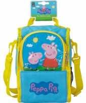 Peppa big schooltasje