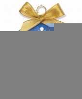 Plastic kerstbal king charles spaniel hond