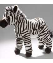 Pluche zebra knuffel voor kinderen 32 cm