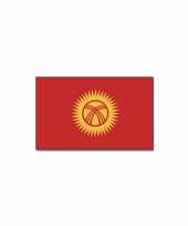 Polyester vlag kirgizie