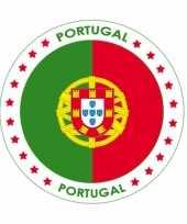 Portugal vlag print bierviltjes