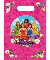 Prinsessia snoepzakjes 6 stuks