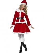 Rode kerst outfit voor vrouwen