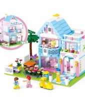 Sluban familie huis blokjes bouwset
