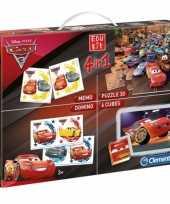 Speel puzzel set van disney cars