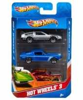 Speelgoed autos hot wheels 3 x
