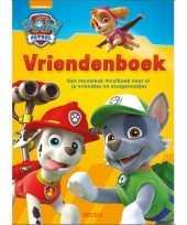 Speelgoed boek paw patrol vriendenboekje poesiealbum