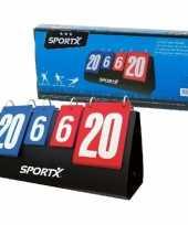 Sport wedstrijd punten scoreboard