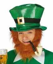 St patricks day hoed groen