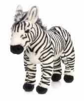 Staande zebra knuffels 30 cm
