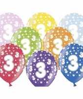Sterretjes ballonnen 3e verjaardag