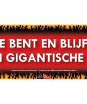 Sticky devil stickers tekst gigantische lul