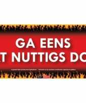 Sticky devil stickers tekst nuttigs doen