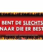 Sticky devil stickers tekst slechtste minaar