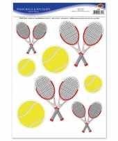 Tennis feest stickers