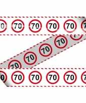 Verkeersborden markeerlint 70 jaar