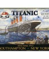 Wandplaatje titanic queen of the ocean 10040209